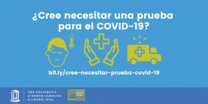 UNC | Building Integrated Communities | Prueba para el COVID-19