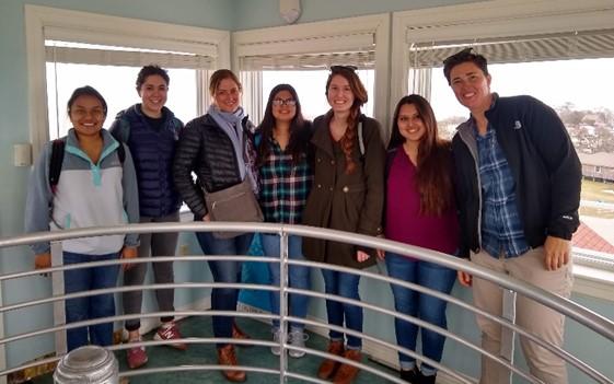 UNC Students Visit Ocracoke | NCCAT Tower